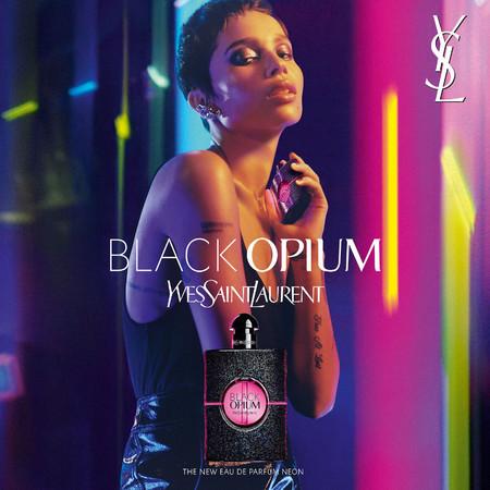 Black Opium Neon Ysl Zoe Kravitz