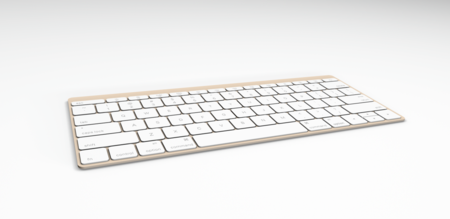 Keyboard Angle Gold 2