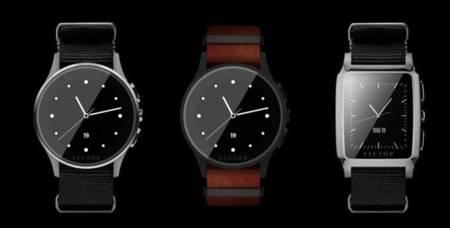 El reloj Vector promete treinta días de autonomía