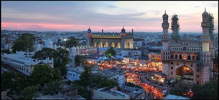 A Typical Charminar Evening