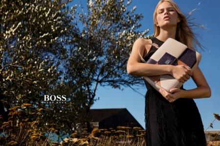 Hugo Boss Anna Ewers Campana Primavera Verano 2016 3