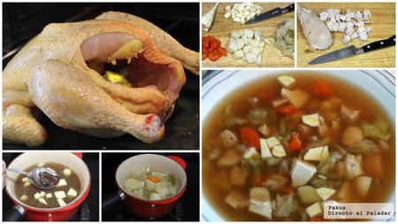 Sopa Miso Pollo