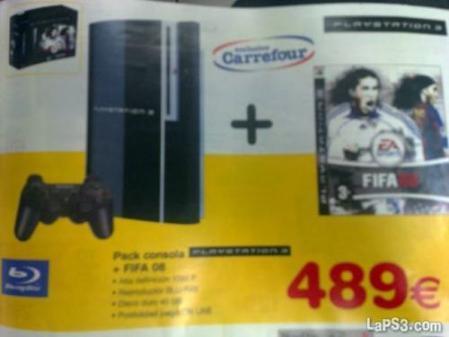 ¿PS3 a 449€ en Carrefour... el día antes del gran anuncio de Sony?