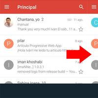 Cómo desactivar la vista de conversación en la app de Gmail