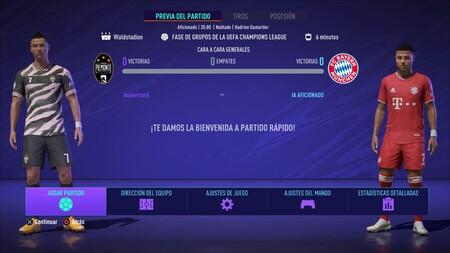 Fifa 21 Match Day En Dir En Los Menus 3