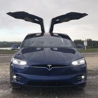 El Tesla Model X esconde un espectáculo navideño de luz y sonido gracias a un 'huevo de Pascua' secreto