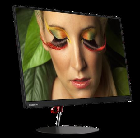 Lenovo ThinkVision X24, la firma también tiene un monitor super-delgado