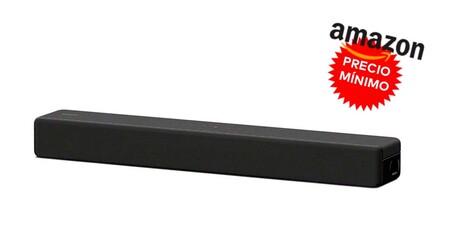 La barra de sonido Sony HTSF200 también está a precio mínimo en Amazon como adelanto del Black Friday: la tienes por sólo 125 euros