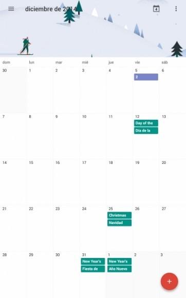 Android Calendario 5