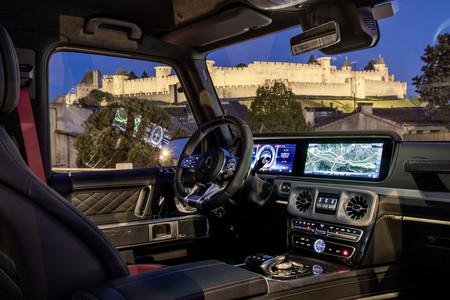 Mercedes-AMG G63 habitáculo