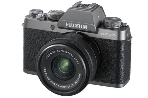 Fujifilm X-T100, la nueva cámara sin espejo de la serie X que presume de sencillez, ligereza y estilo