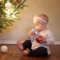 La Navidad con el bebé no siempre es como esperabas (humor)