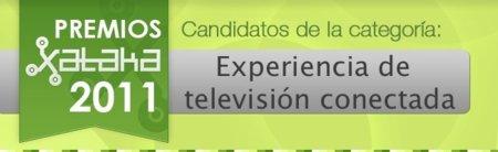 Mejor experiencia de televisión conectada de 2011, vota por tu preferida