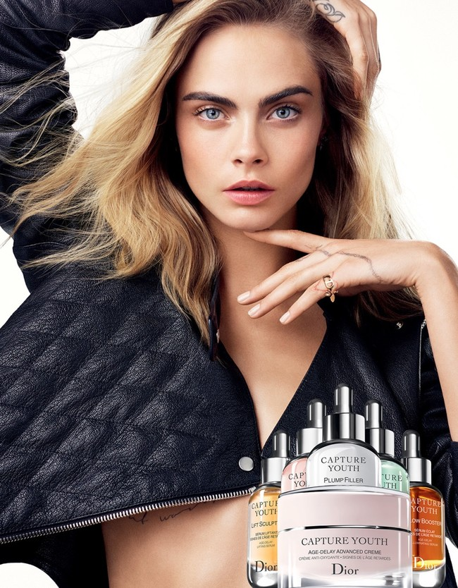 Cara Delevingne Dior Capture Youth