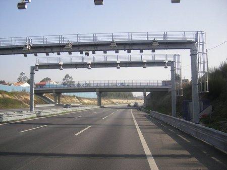 Peaje sin barrera en Portugal
