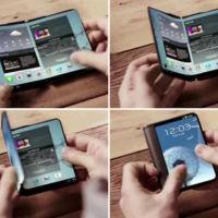El misterioso smartphone plegable con pantalla flexible de Samsung podría ver la luz en 2016