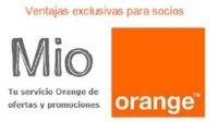 Mio de Orange: regalos a cambio de publicidad