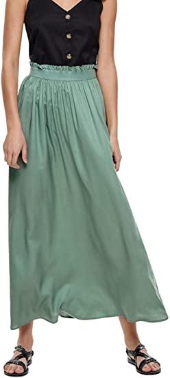 Only Onlvenedig Paperbag Long Skirt Wvn Noos Falda para Mujer