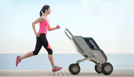 Smartbe Stroller es un cochecito de bebé autopropulsado que no se separa de nosotros