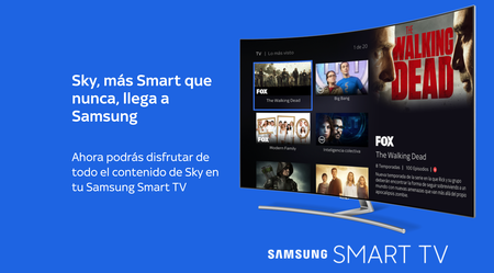 El vídeo bajo demanda sigue creciendo gracias a la llegada de Sky TV como aplicación a los Smart TV Samsung