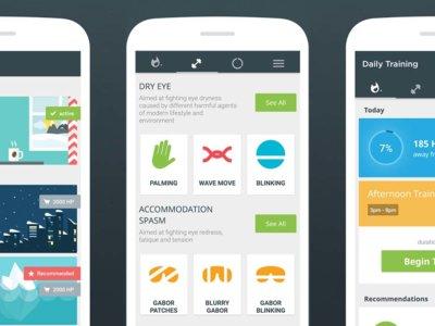 Eye Care Plus es una aplicación para cuidar de tus ojos... desde la pantalla del móvil