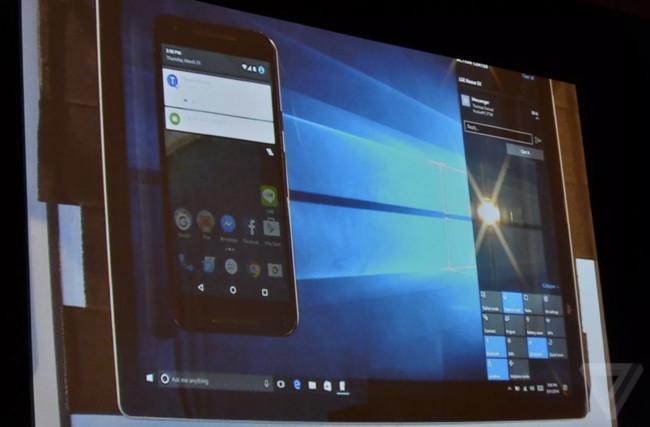 Las notificaciones de Android llegarán a tu PC con Windows 10