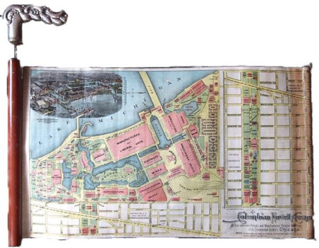 Mapas Baston Feria Chicago 1893