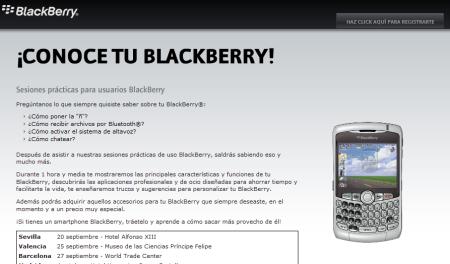 Blackberry te enseña a manejar tu dispositivo