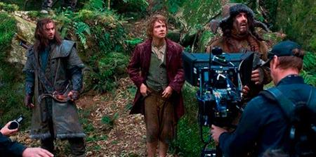 Detrás de la cámaras de 'El Hobbit': fotografías del rodaje