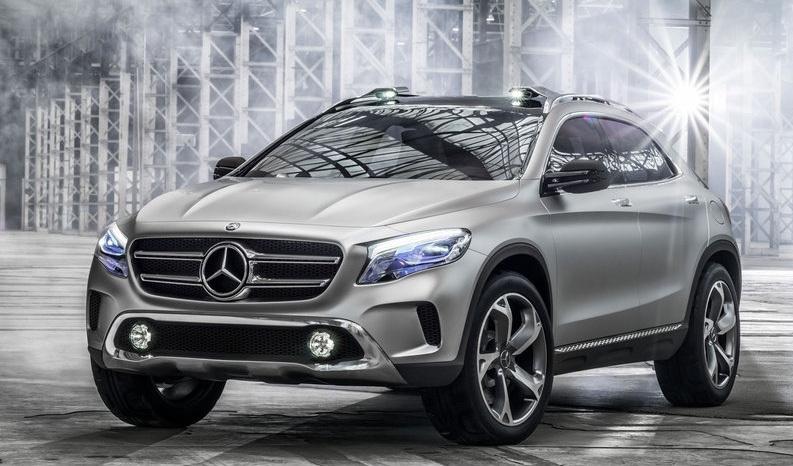 Foto de Mercedes-Benz GLA Concept (2/12)