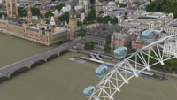 El London Eye y el Big Ben cobran vida en los Mapas de Apple