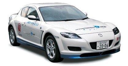 Mazda RX-8 Hydrogen RE en Europa