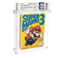"""Una copia de 'Super Mario Bros. 3' bate récord histórico en precio en una subasta: 165.000 dólares por un cartucho """"con defecto"""""""
