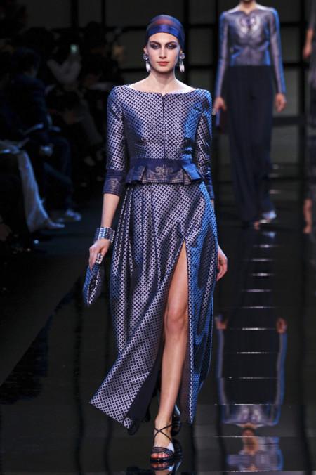 Armani Privé alta costura primavera verano 2014