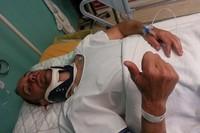 Gerard Farrés sufre un grave accidente entrenando