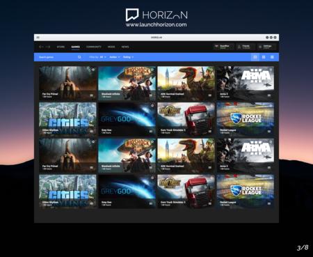 Horizon Launcher Juegos