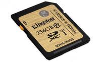 Kingston duplica la capacidad de sus tarjetas SD hasta los 256 gigabytes