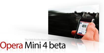 Opera Mini 4 Beta, un navegador como el del iPhone en un móvil normal