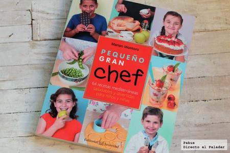 Pequeño gran chef. Libro de cocina para niños