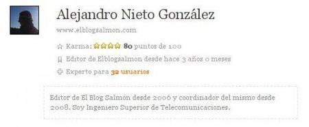 Mejoras en el sistema de karma de El Blog Salmón
