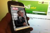 La revista inglesa Hello! lanza una portada 3D visible a través de una app para iOS o Android