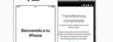 Cómo pasar todos los datos y contactos de Android a iPhone