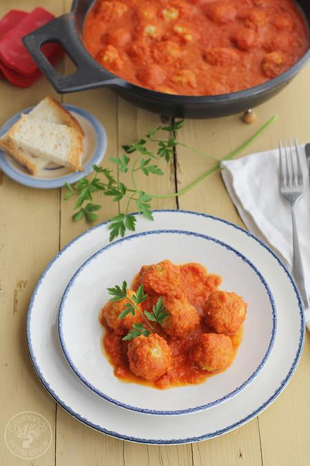 Albondigas De Atun Con Tomate Receta Www Cocinandoentreolivos Com 5