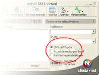 SMS certificados probados con éxito