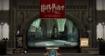 Abierta la web de 'Harry Potter y la Orden del Fénix'