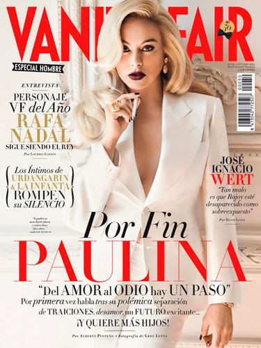 Me pinchan y no sangro viendo a Paulina Rubio en Vanity Fair