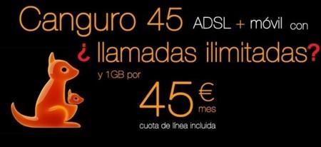 Autocontrol insta a Orange a corregir la publicidad de la Canguro 45 por no ofrecer llamadas ilimitadas