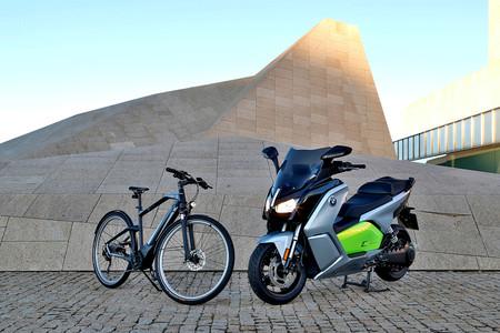 Bici moto BMW eléctricas