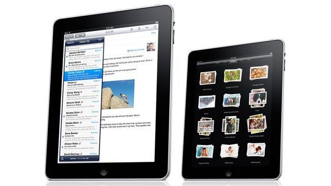 apple ipad 7 pulgadas mockup