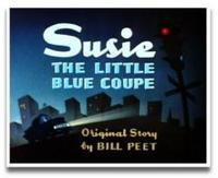 'Suzie the Little Blue Coupe', la inspiración de Cars